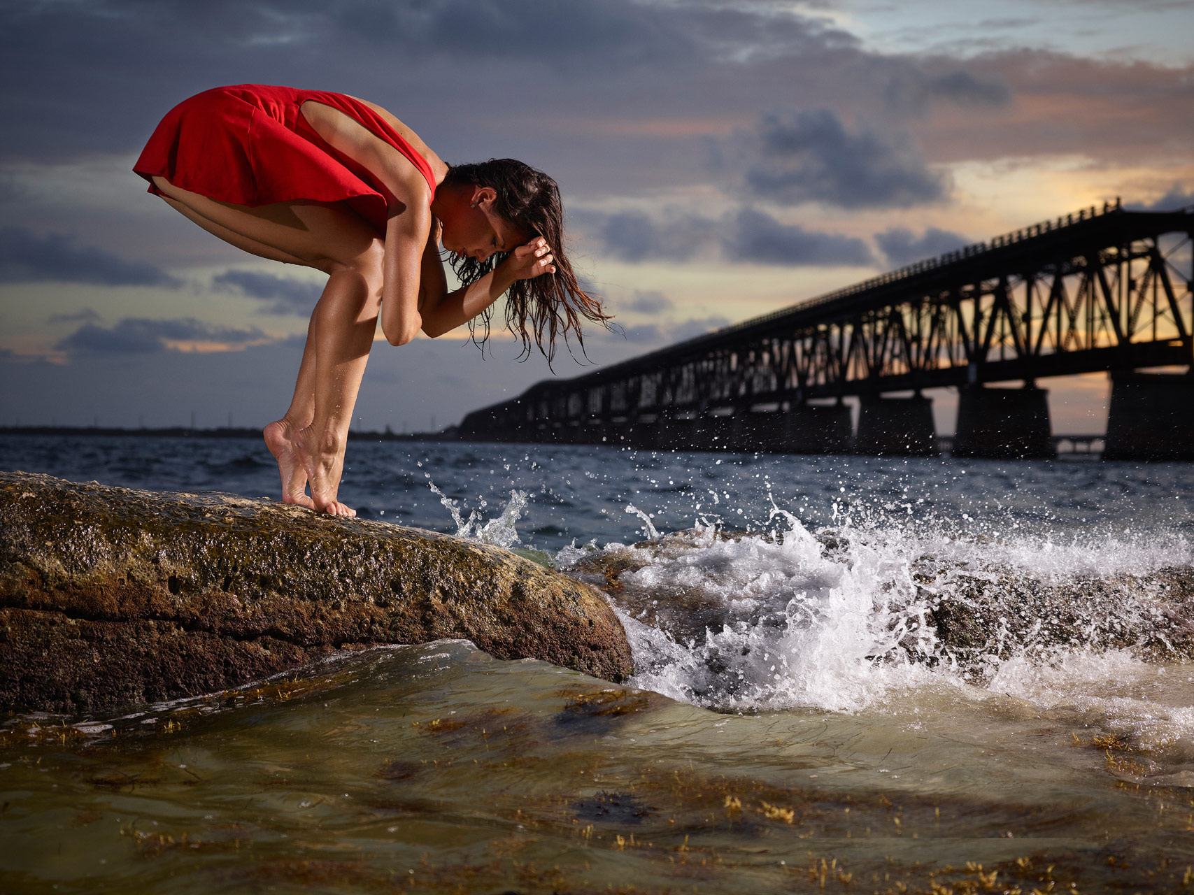 Monica Sharon |  Modern Dancer |  Key Bridge