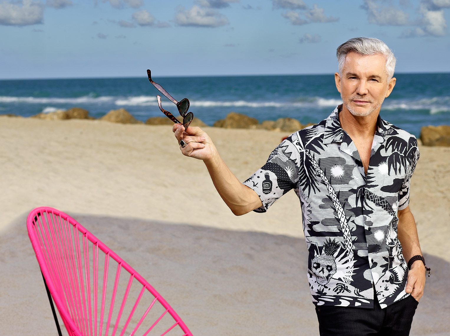 Baz Luhrmann | Film Director |  Miami Beach  Photographer Jeffery Salter