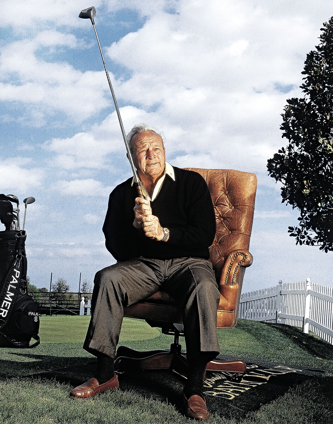 Arnold Palmer |  Golfer |  Jeffery Salter photographer