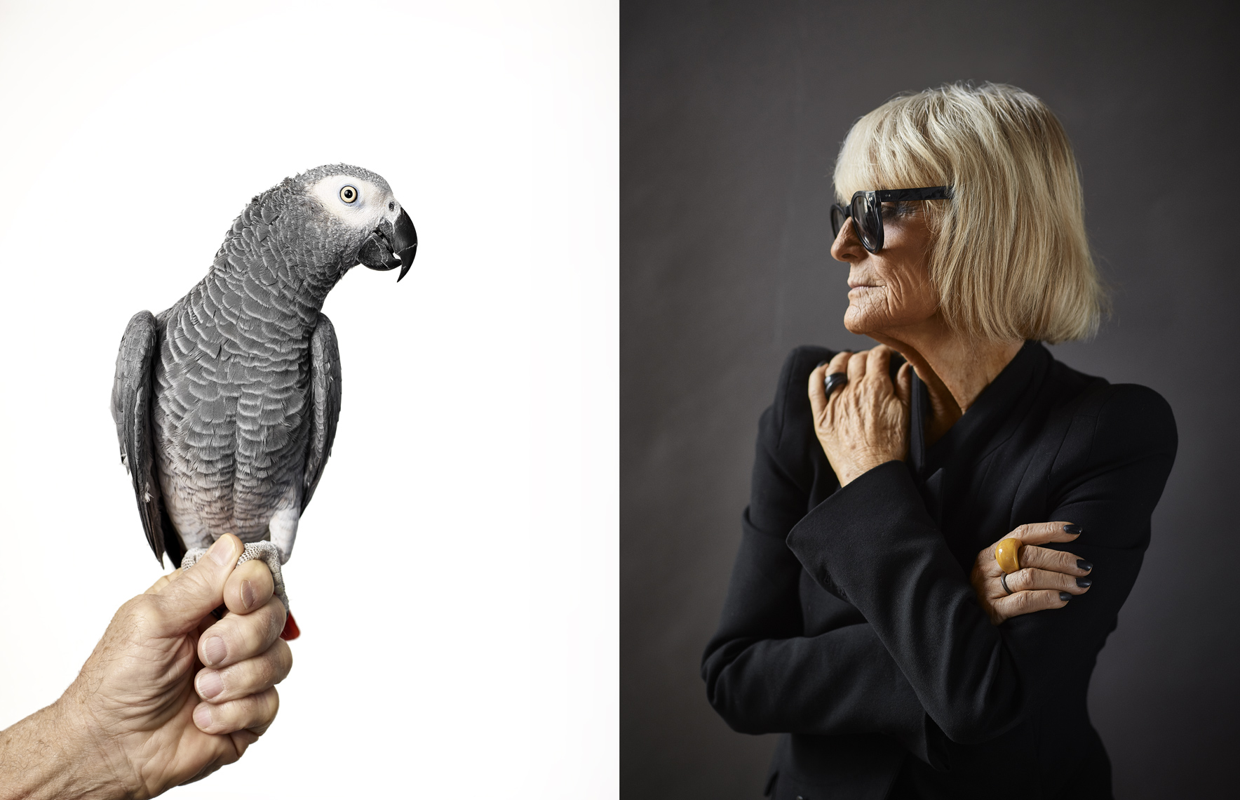 Barbara Hulanicki |  Fashion Designer and founder of Biba | Jeffery Salter celebrity portrait photographer  |