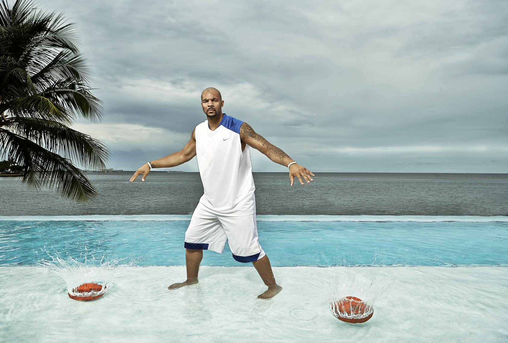 Carlos Boozer  | Chicago Bulls basketball player  |  Miami photographer Jeffery Salter