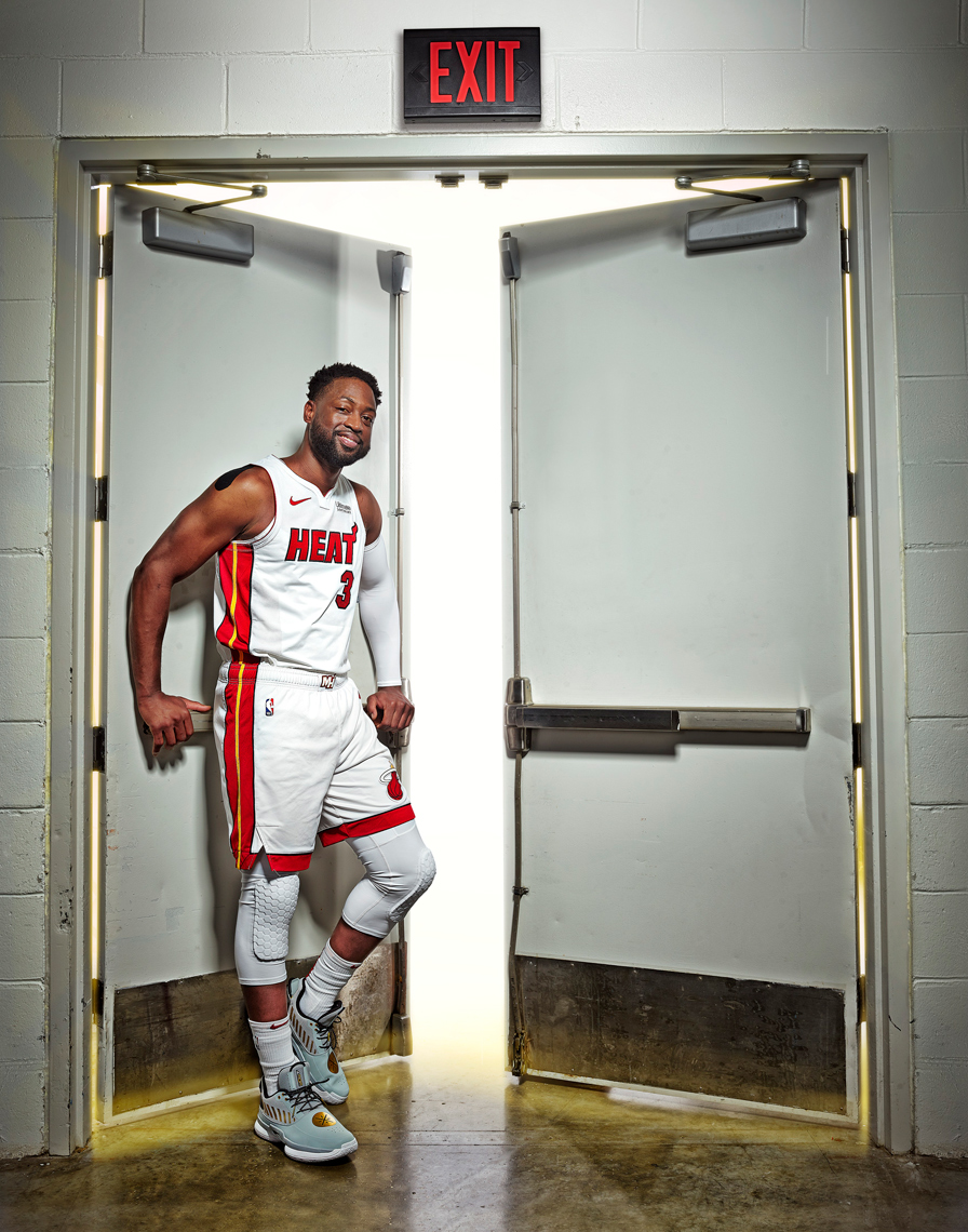 Dwayne Wade |retired Miami Heat Basketball player | Miami Advertising Photographer Jeffery Salter