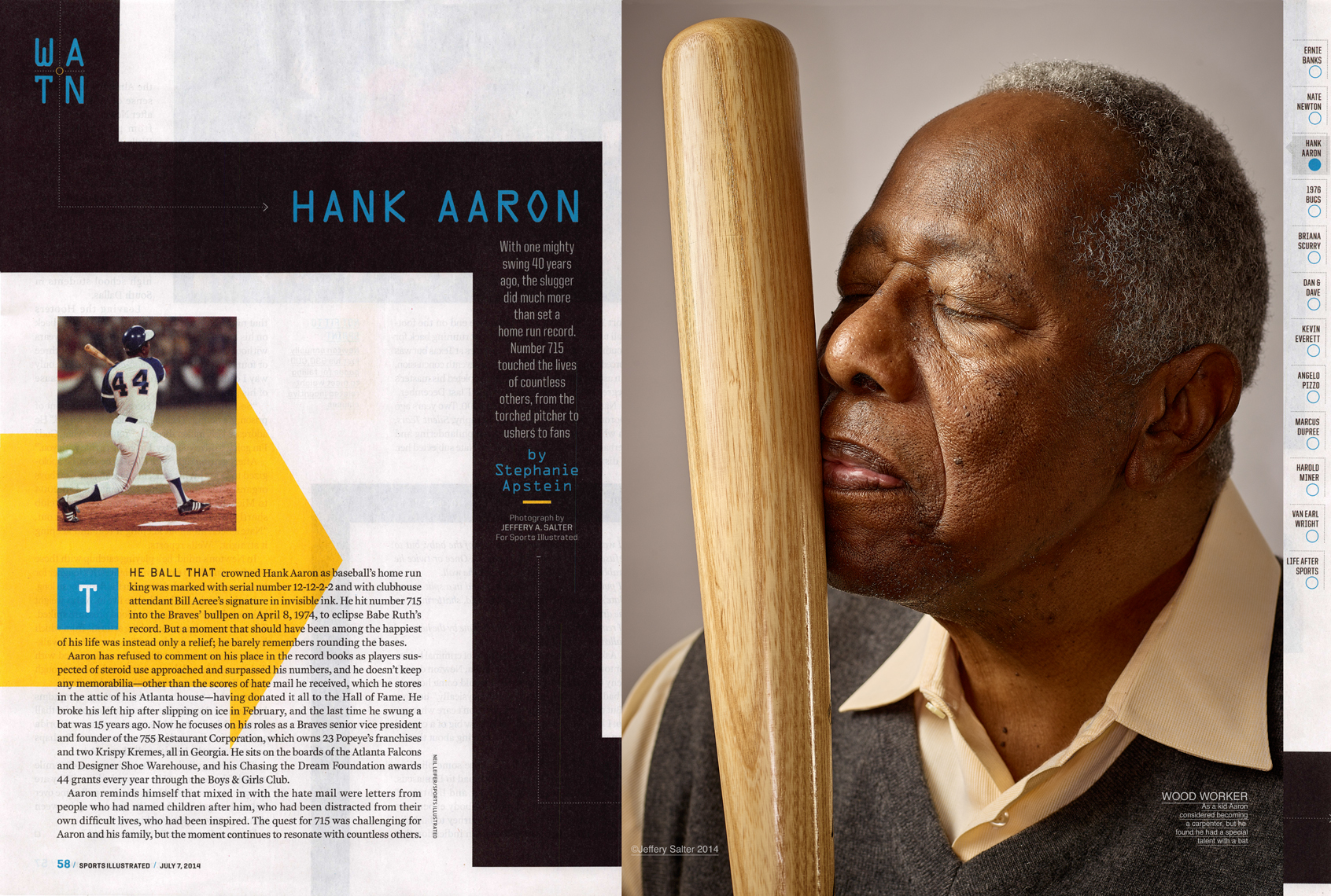 Hank Aaron  |  Baseball Icon  |  Sports Illustrated