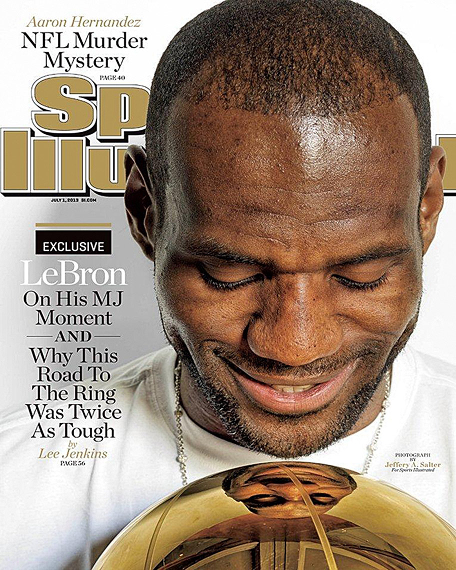 LeBron James  |  Sports Illustrated  |  Miami based photographer Jeffery Salter