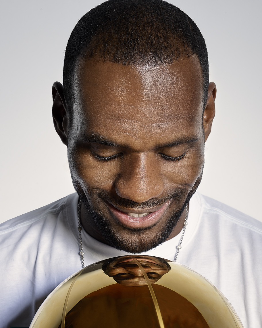 LeBron James  |  Miami Heat Champion Basketball Player  |  Jeffery Salter sports celebrity and portrait photographer based in Miami