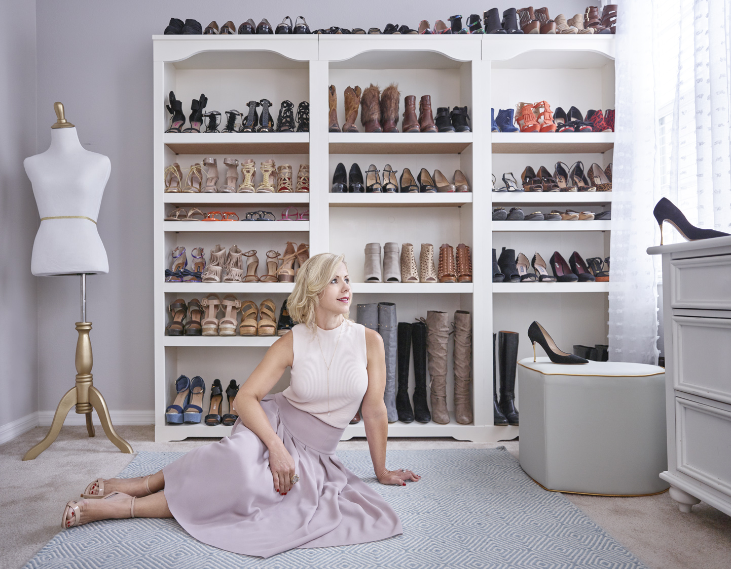 The Shoe Maven |  Tanya Walker |  Lifestyle Advertising Portrait | Miami