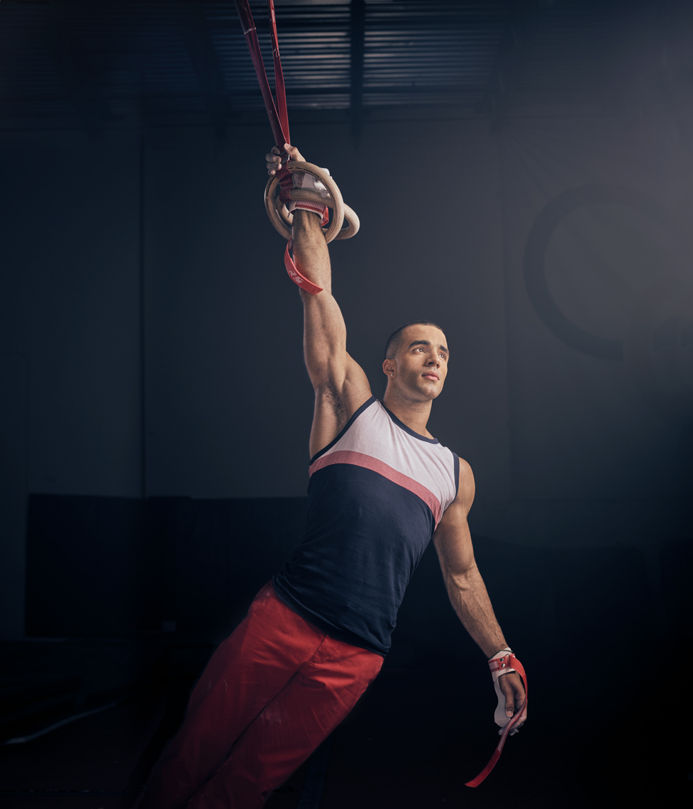 Danell Leyva |  gold medal Olympic Gymnast | Miami Advertising photographer Jeffery Salter