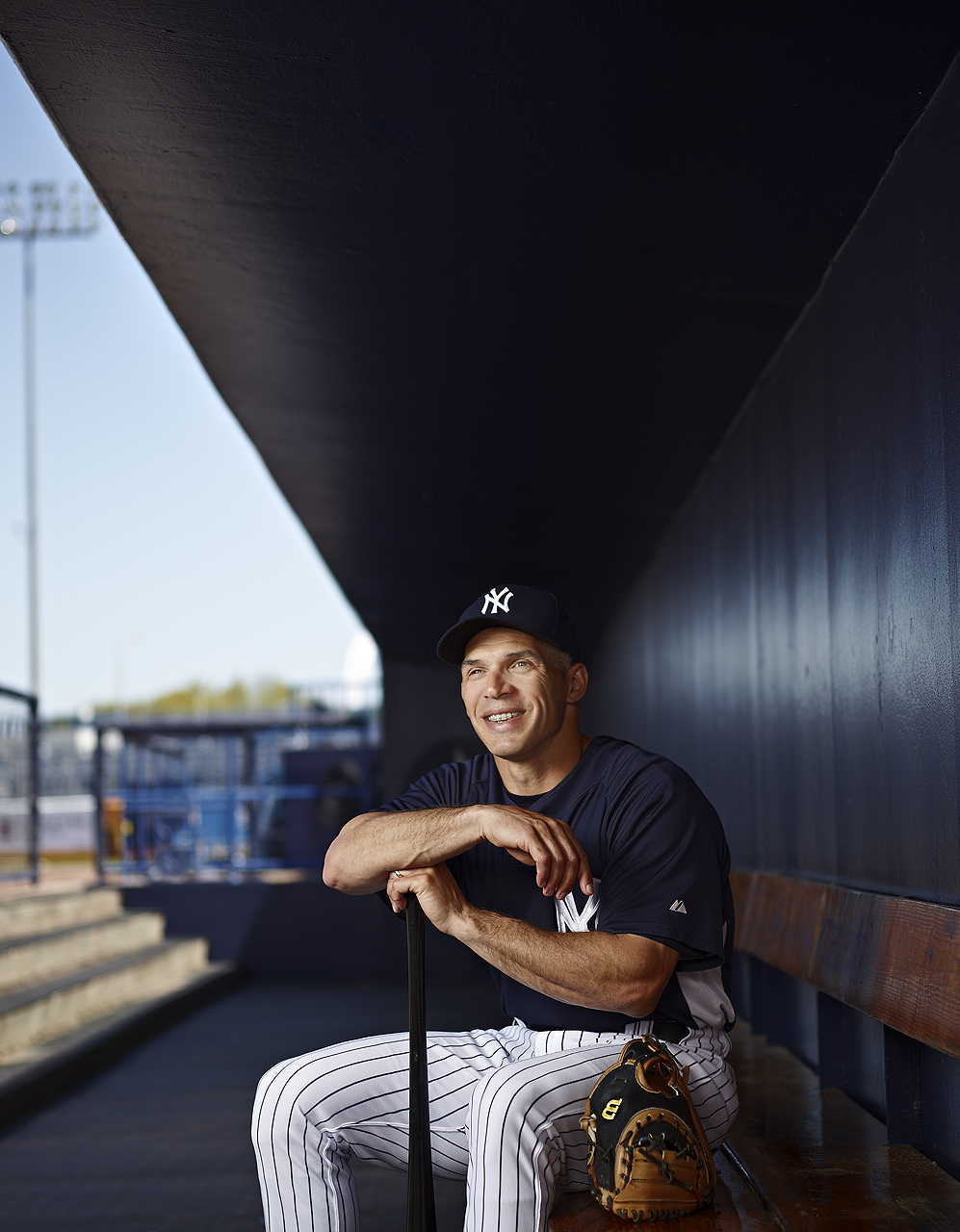 Joe Girardi  |  New York Yankees  |  Sports Fitness photographer Jeffery Salter