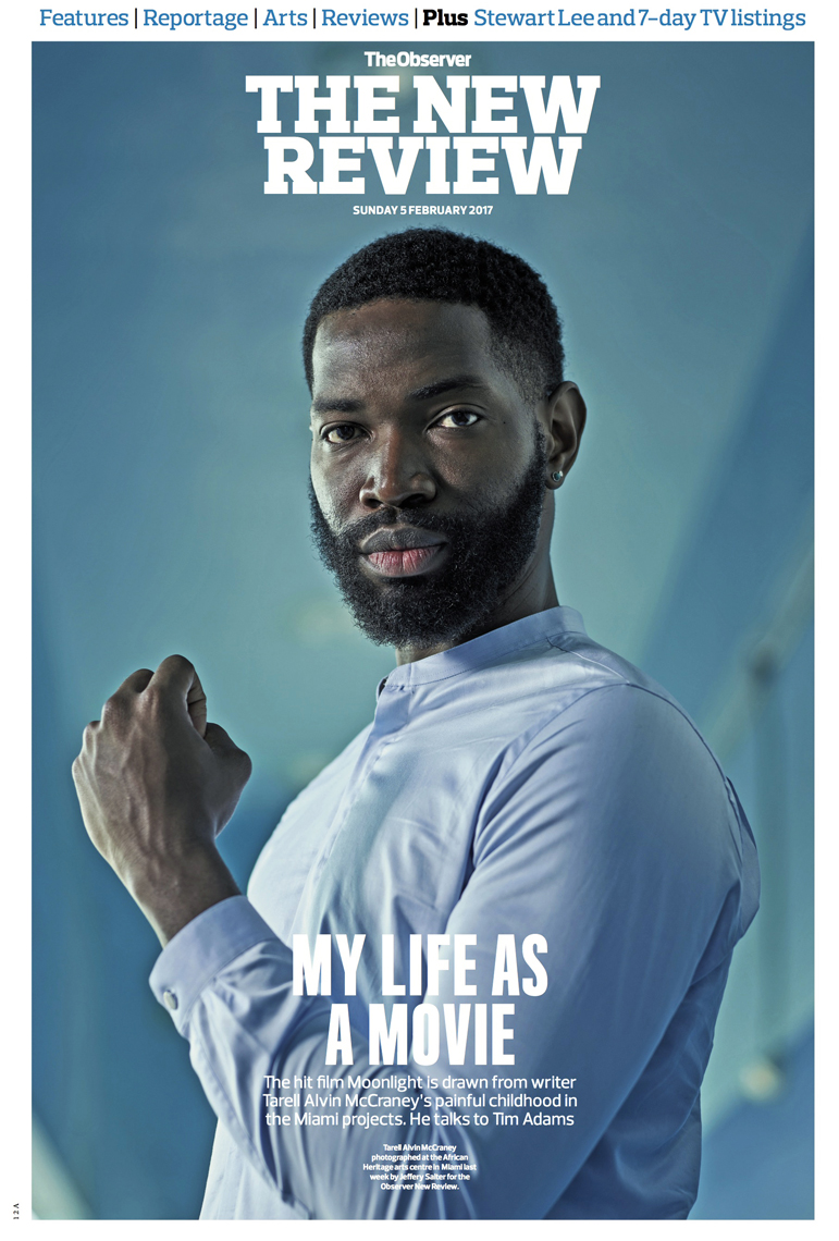 Moonlight | Tarell Alvin McCraney | Miami_Advertising_photographer_Jeffery_Salter_lifestyle_portrait_Cover