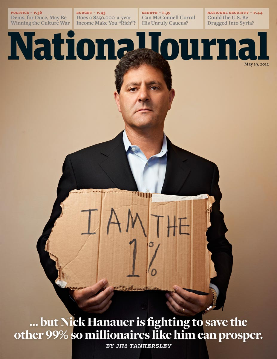 Nick Hanauer  | National Journal  |  Miami based photographer Jeffery Salter