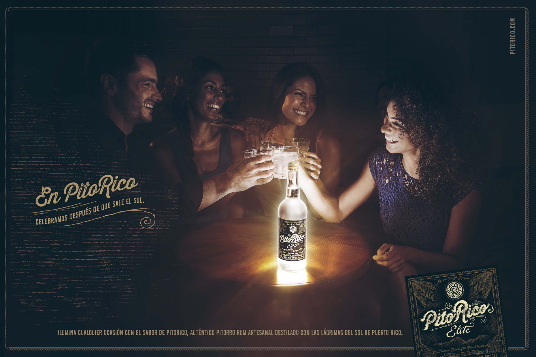 Advertising campaign | Pito Rico | Miami Advertising photographer : Jeffery Salter
