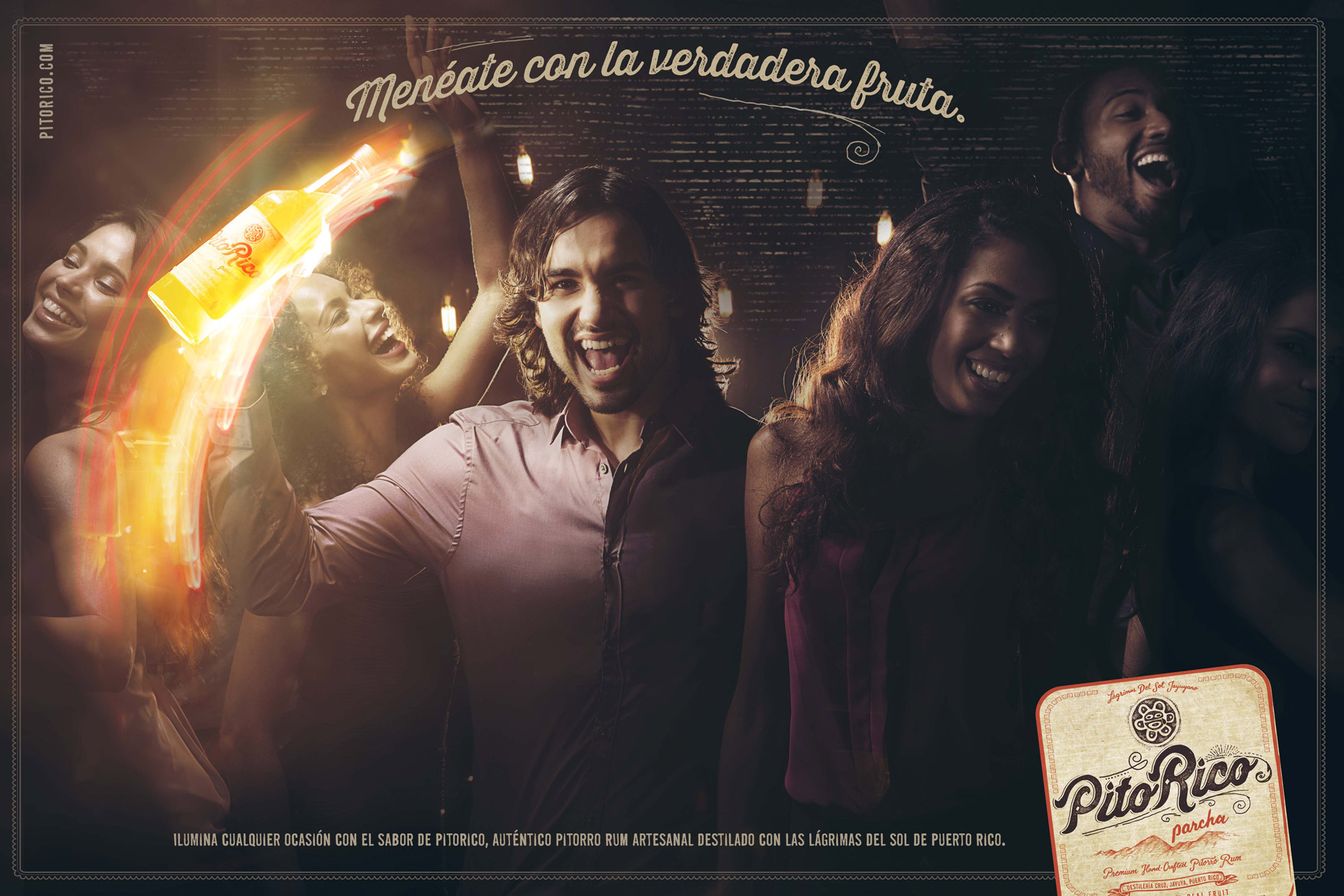 Pito Rico | Advertising Campaign | Miami Advertising photographer: Jeffery Salter