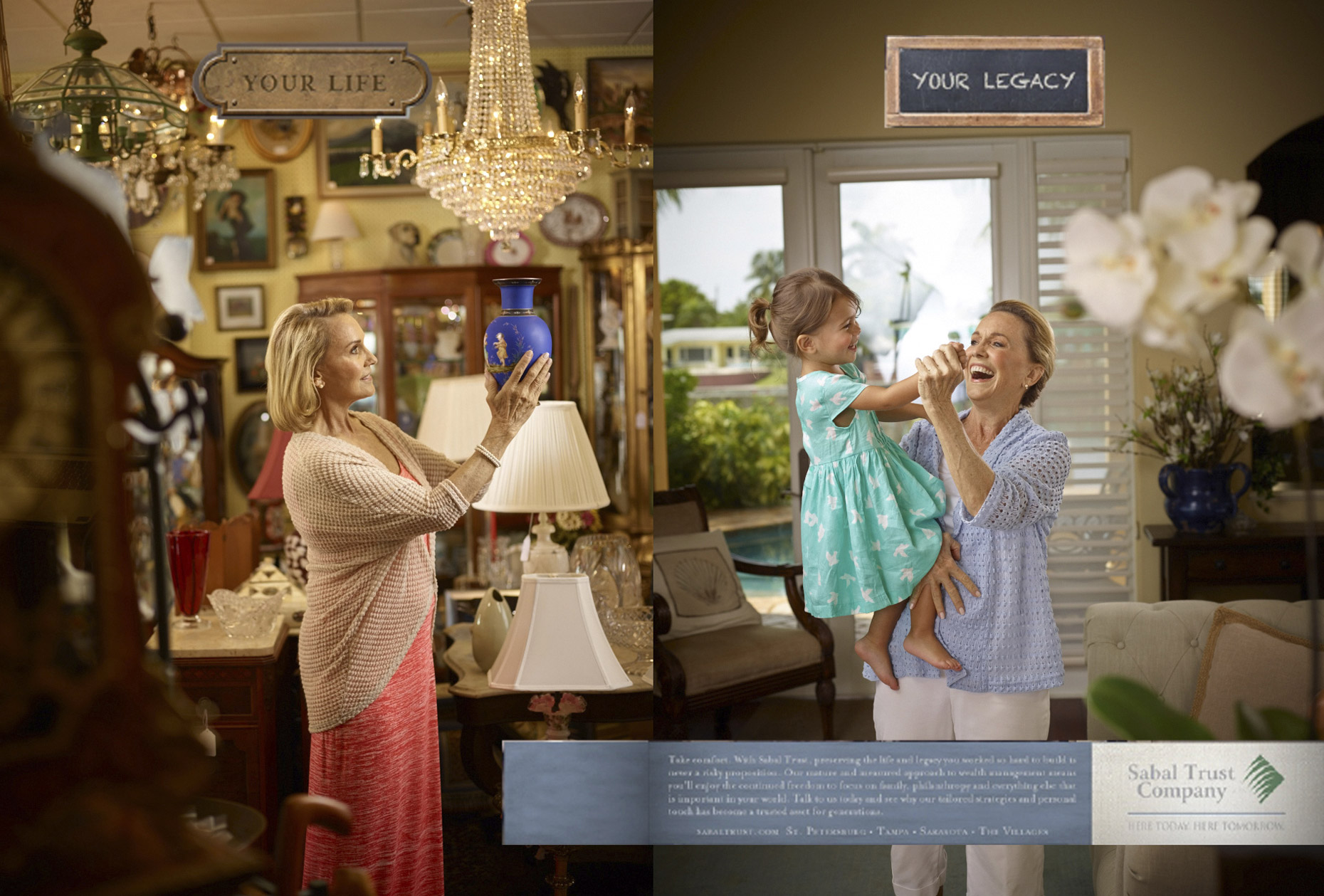 Sabal Trust Advertising Campaign | Miami Advertising and lifestyle photographer: Jeffery Salter