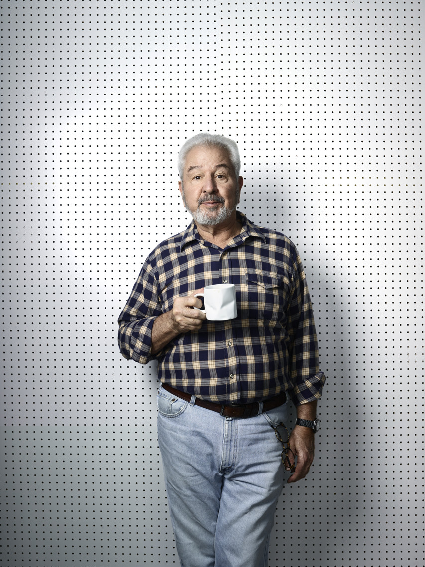 Bob Vila  |  This Old House star | Celebrity portrait advertising photographer Jeffery Salter