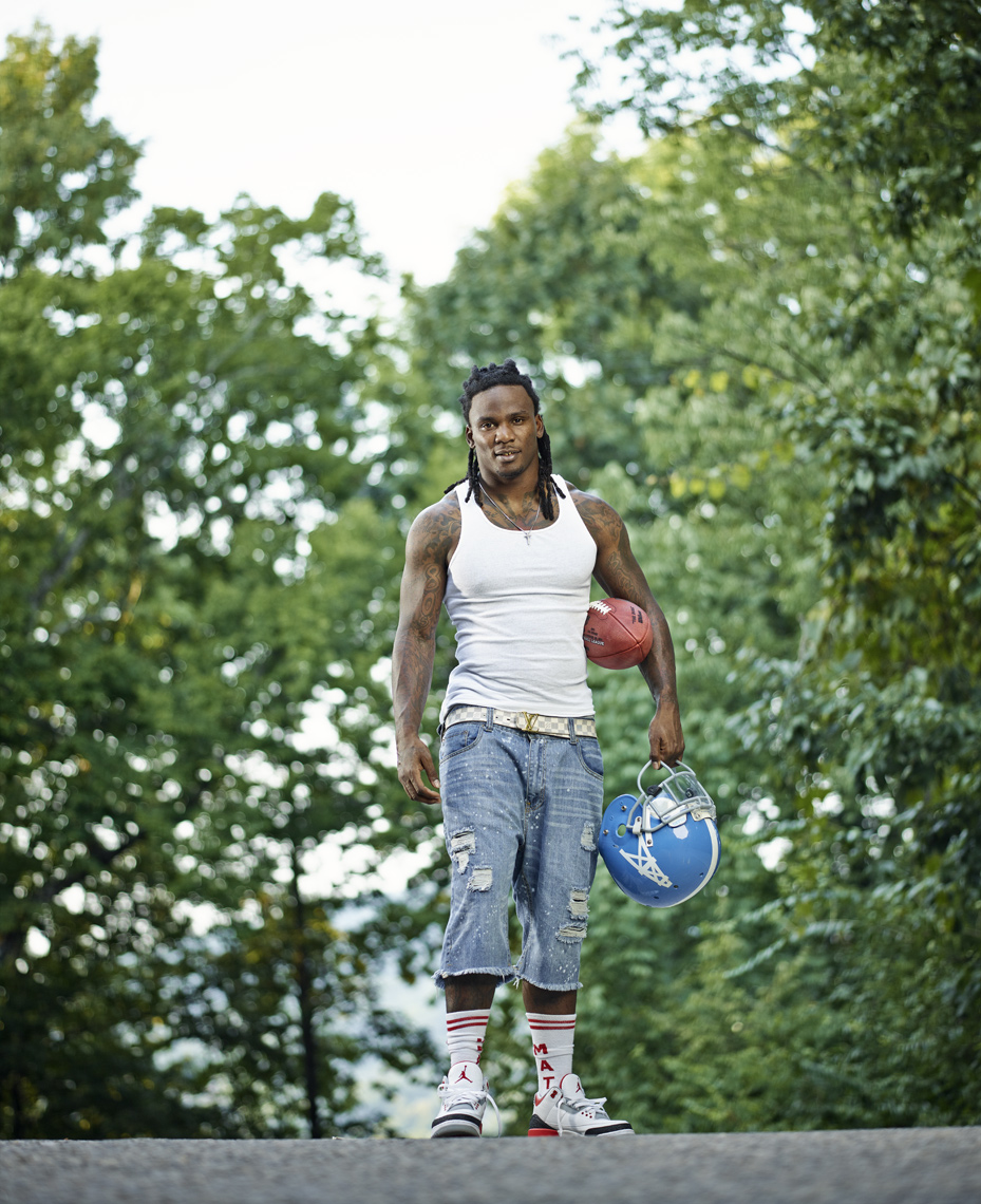 Chris Johnson  |  NFL Player  | Sports portrait photographer Jeffery Salter