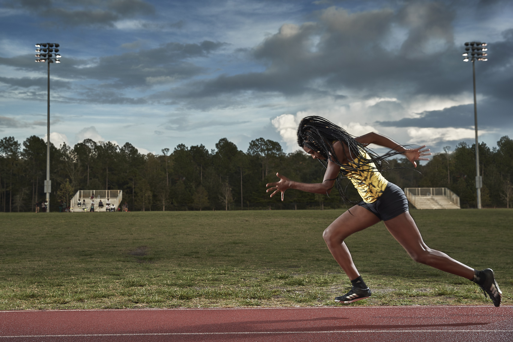 Tamari Davis | Fastest 14yr old in the world | Track and field