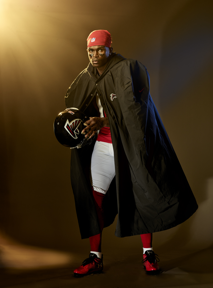 Julio Jones | NFL Football player | Miami Advertising Photographer Jeffery Salter