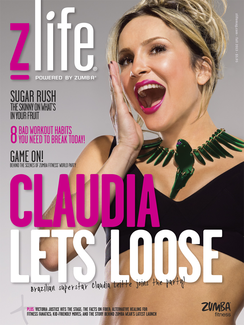 Zumba Magazine | Claudia  Leitte  | Photographed by Miami Photographer Jeffery Salter