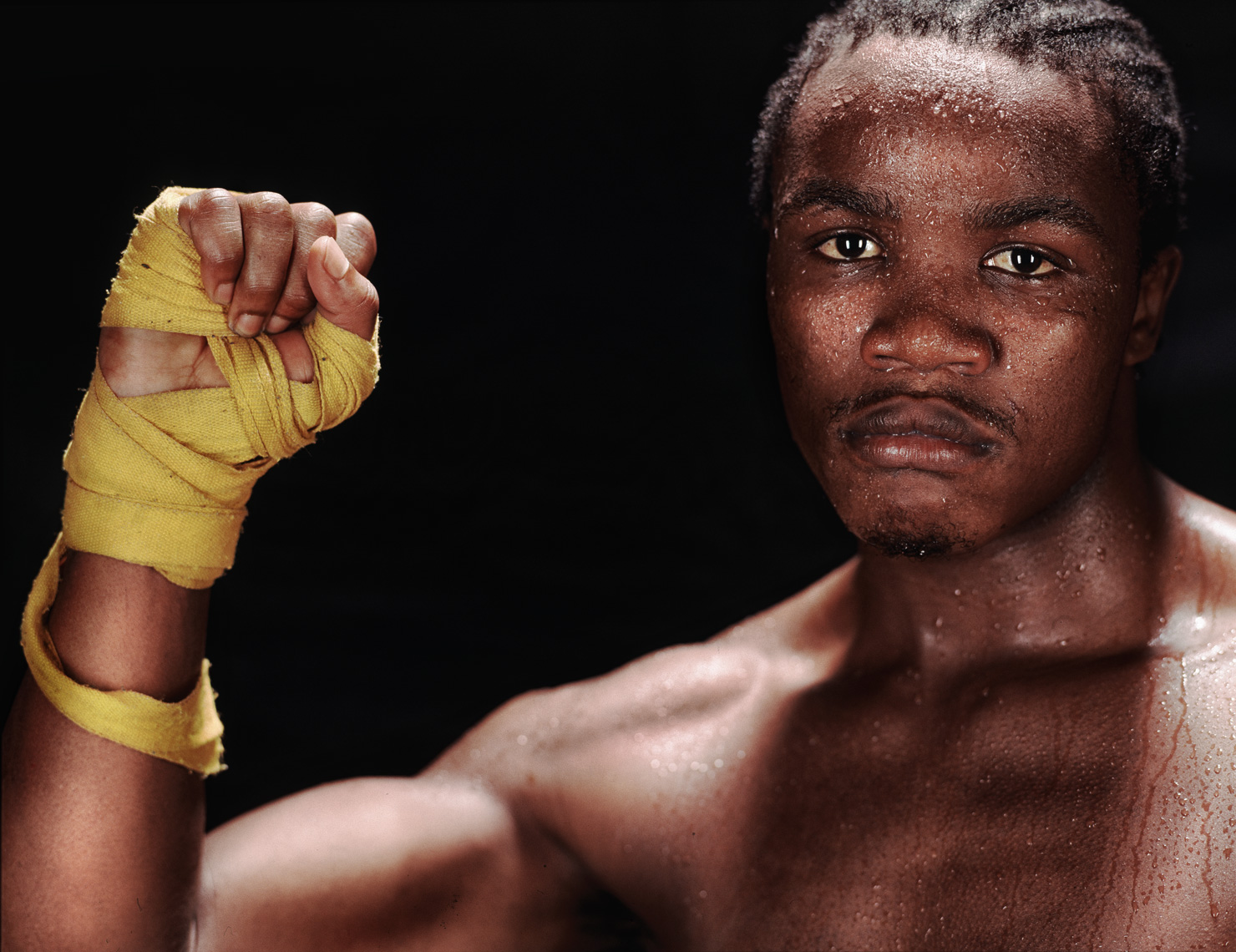 Kassim Ouma |  Middleweight  Boxing  Champion  |   Sports portrait photographer Jeffery Salter